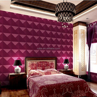 3d pvc wall panel for TV background home decor