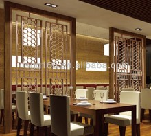 restaurant decorative room dividers with innovative design product