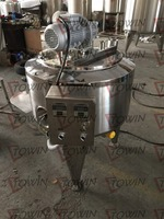 Industrial batch ice cream/milk pasteurization machine for sale