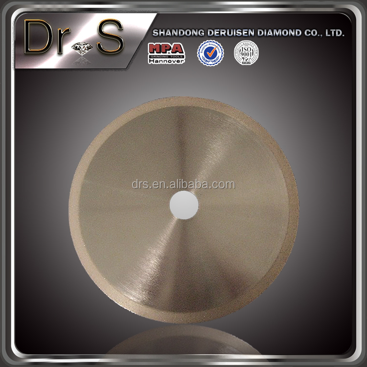 Dr.s 10 inch diamond saw blade for jewelry/agate