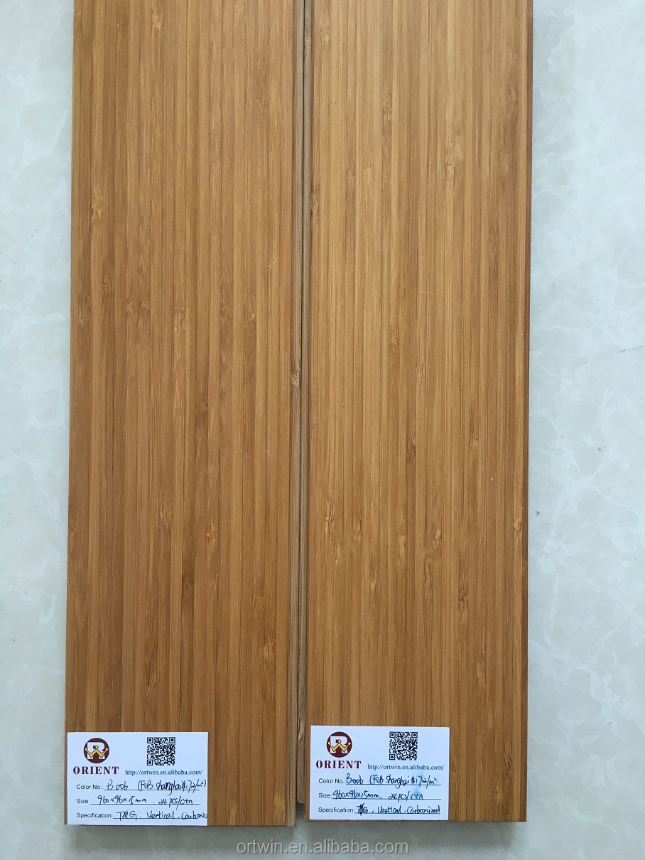 China manufacturer solid bamboo flooring with CE certificate