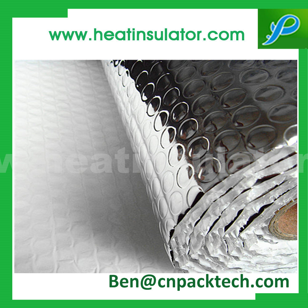 Double Sided Silver Foil Cell Air Bubble Insulation
