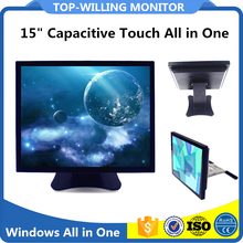 "Hot Sale 15""17""19"" Capacitive Industrial PC Win 7 All in One"