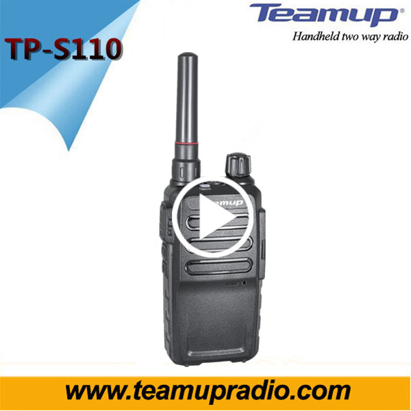 Wireless tour guide 2 W Mini twin-set handheld radio ham TP-S110 with Li-Ion battery guide