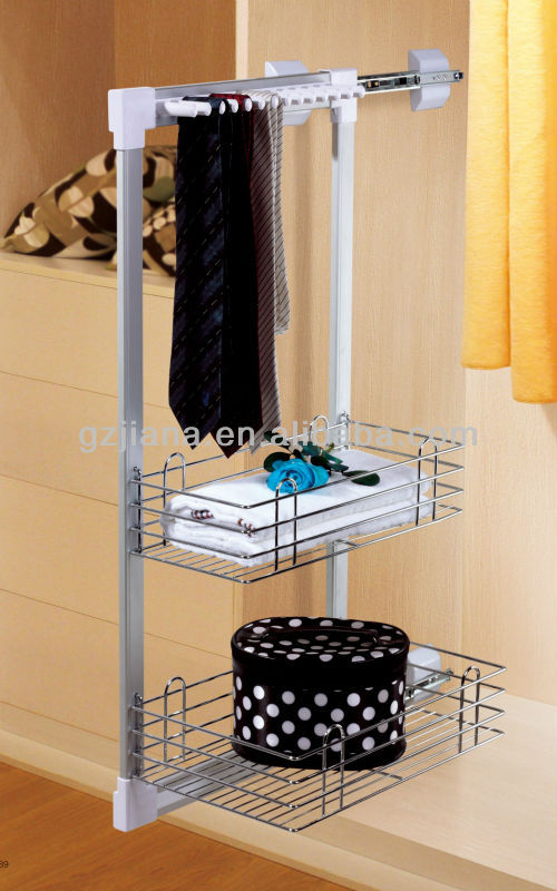 Furniture fitting Metal gabion Storage Basket