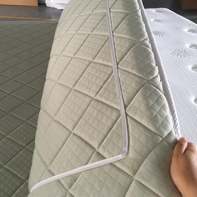 Super soft 12 Inch Comfortable aloe vera mattress pocket spring mattress with removable topper - Jozy Mattress | Jozy.net