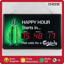 LED LCD Project Countdown Clock