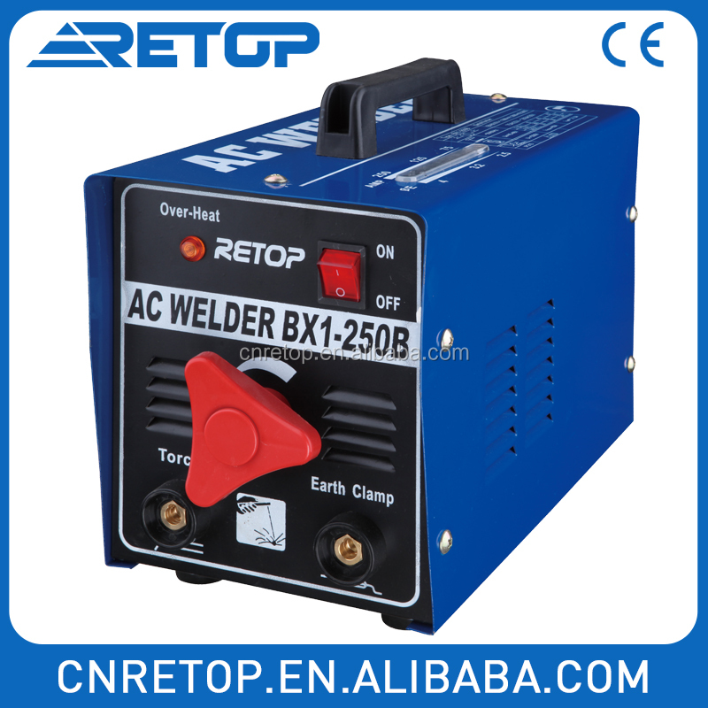 BX1160B single phase portable high quality arc welder AC weld welding machine