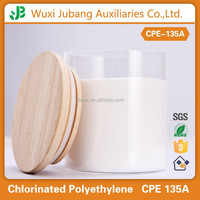 Chlorinated polyethylene, impact modifier CPE 135A, chemical raw material