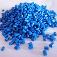 Blue PP masterbatch for pack rope, PP rope, color is bright