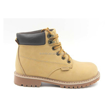 best sell yellow martin boot lace-up antique buckle boots