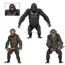 wholesale 21cm 3 piece a set NECA 29033 Dawn of the Planet of the Apes PVC action figure