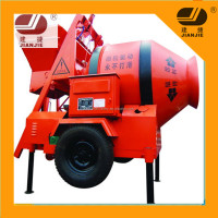 Mobile Concrete Mixer with Self Loading from China JZM250 Concrete Mixer Prices in India