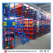 Steel structure warehouse drawings,Adjustable shelving unit Botro storage mezzanine