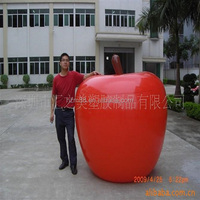 Hot Sale Inflatable Fruit Model Inflatable Apple For Chirstmas Decoration