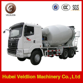 6*4 Euro2 8000L truck mounted concrete mixer, concrete cement mixer truck