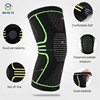 Adjustable Breathable Effective Avoid Injuries Nylon High elastic knee support