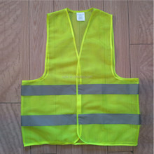 Disposable designer 100% polyester fabric safety vest