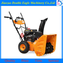 Hot sale professional Gas powered snow thrower/ce certification snow blowing machine