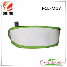 ESINO Hot Sale Electric Belly Slimming Massage Belt Body Care Fat Burning Sauna Belt FCL-M17 Stomach Slimming Massager