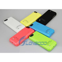 High Quality 2200mAh Power Bank External Backup Battery Charger Case for iphone 5G 5S 5C