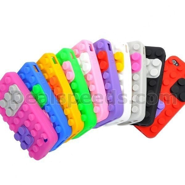 Dot Rubber Back Silicone Case for Apple iPhone 4G/4S Case For phone case iphone4