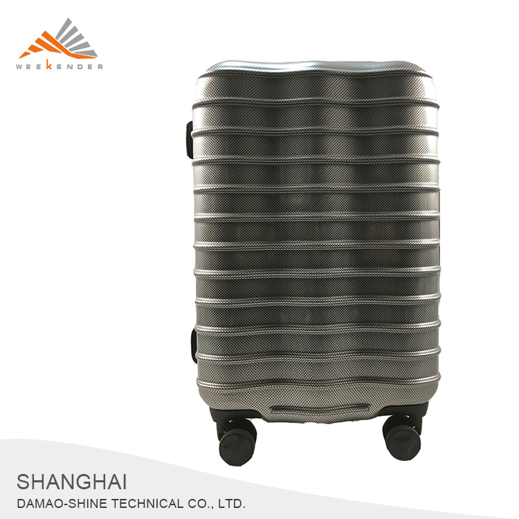 New Products High Quality ABS Wheeled Trolley Travel Case