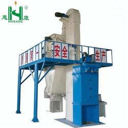 Self valve bag packing wall putty making machine/ lime putty mortar dry powder mixer machine