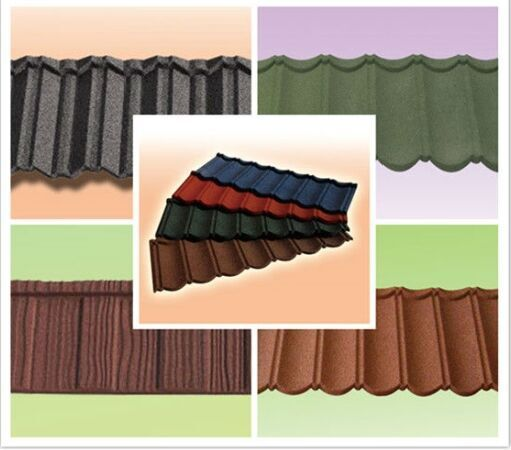 Chinese factory direct decorative color stone coated metal roof tile best hot sale sancidalo asphalt shingles