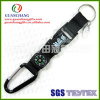 OEM carabiner keychain hook short cord rope strap