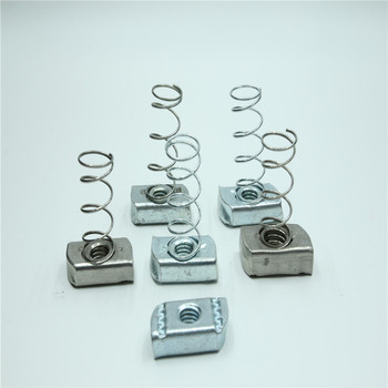 Carbon Steel Zinc Plated Strut nut Channel nuts Spring nut