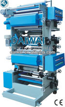 Small gravure printing machine with double blower and print plastic bags