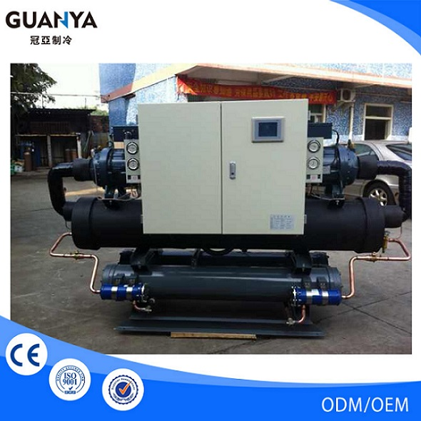 Guanya-100W industrial water chiller for food processing cooling