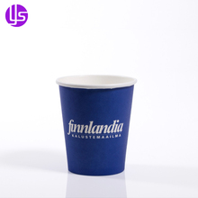 Manufacturer Supply Wholesale Recyclable Cheap Custom Branded Color Printed Business 7Oz Disposable Coffee Tea Paper Cup
