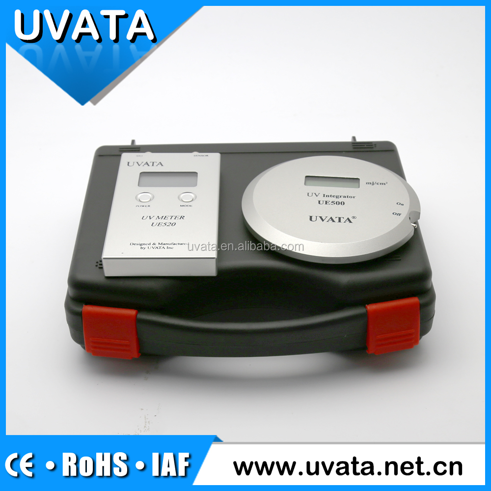 Uvata professional uv intensity irradiation meter dose uv sensor made in China