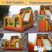 33FT Cheap Inflatable Jumbo Water Slide Slide With Repair Kit