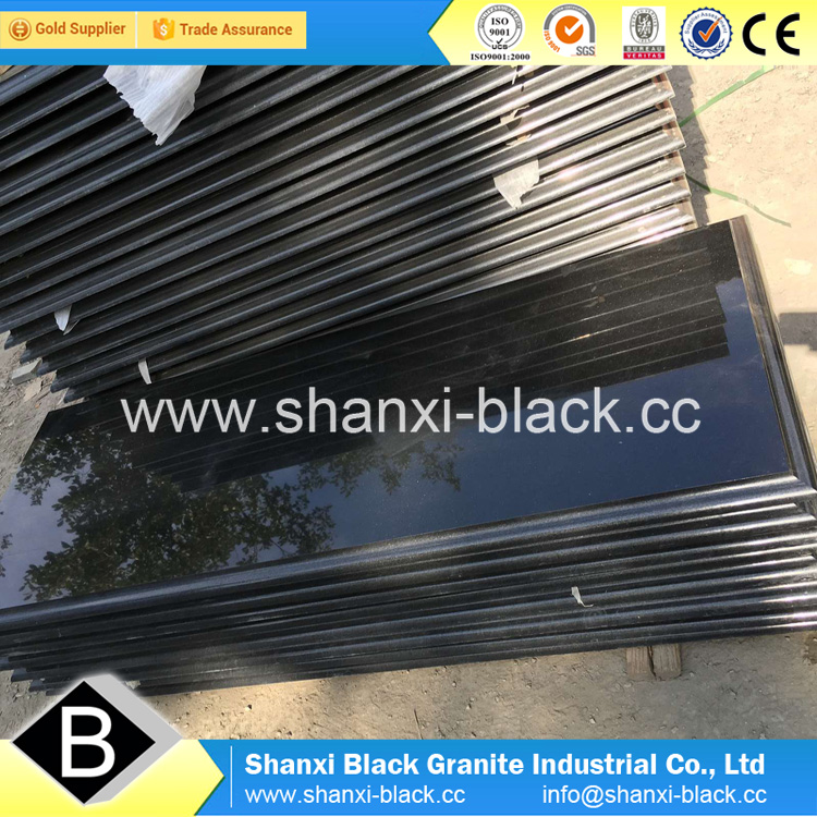 Iran shanxi black granite 180x60x3cm from China with best discounts prices