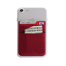 For Daily Lycra Cell Phone Card Holder With Money ID Card