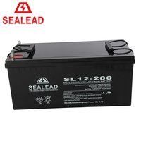 Hot Sale 12V 200Ah AGM Plate Lead Acid Solar Battery With Low Price