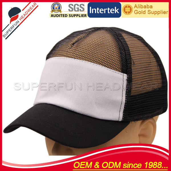 New style blank mesh trucker baseball caps for men