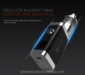 best vapor pen LSbox 20W Ceramic vaping box Gravity Sensor Adjustment box mod
