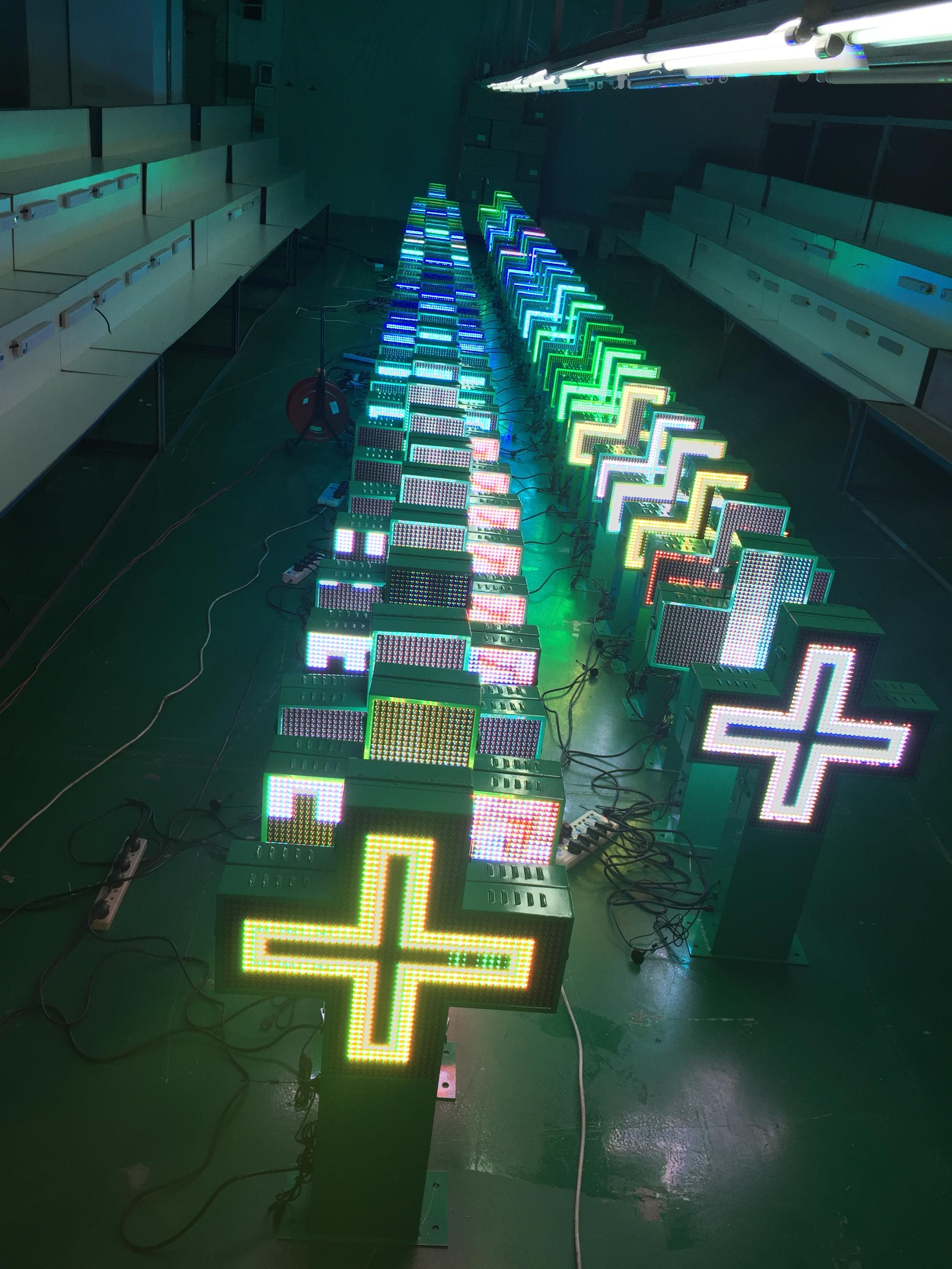 indoor use led pharmacy cross sign, LED cross light