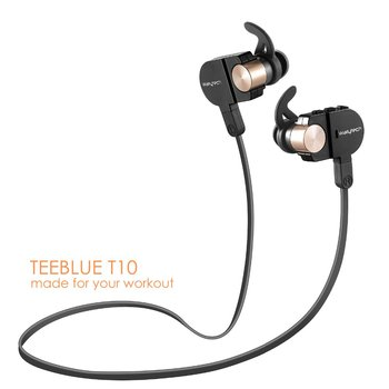 Wallytech T10 Sports Wireless earphone Bluetooth Sports headsets Newest Sports Earphones