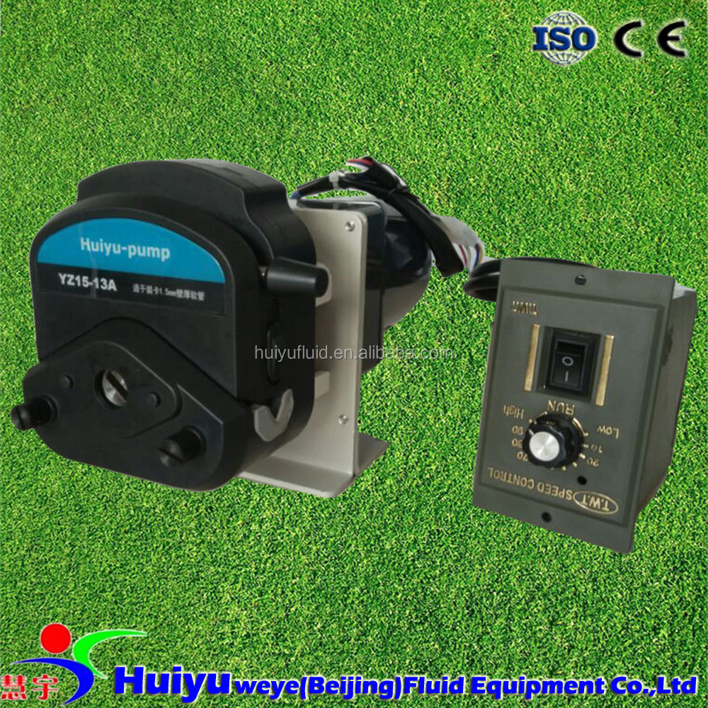 small peristaltic pump with synchronous motor