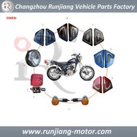 MOTORCYCLE FAIRING LIGHTS PLASTIC PARTS FOR GN125 OWEN 125 150