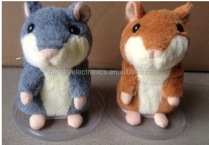 Christmas Gifts x hamster animals,Plush toy talking hamster