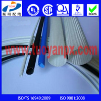 Fiberglass braided silicone rubber insulation sleeve