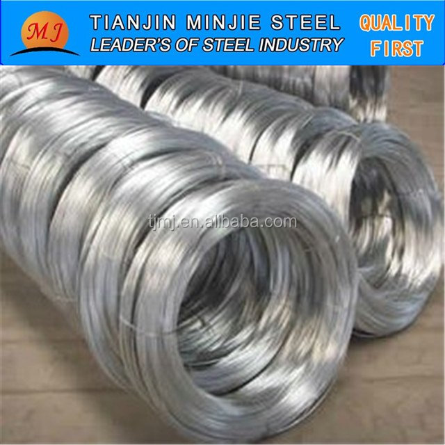 Electro or Hot Dipped Galvanized High Carbon Steel <strong>Wire</strong>