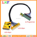 LED LCD EDID Cable 2 in 1 Cable Reading and Writing Cable for RT809F & RT809H
