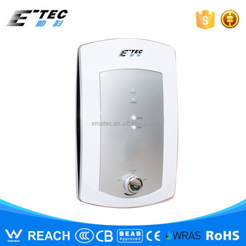 Thinnest electric shower instant tankless water for 4 bathroom tankless water heater
